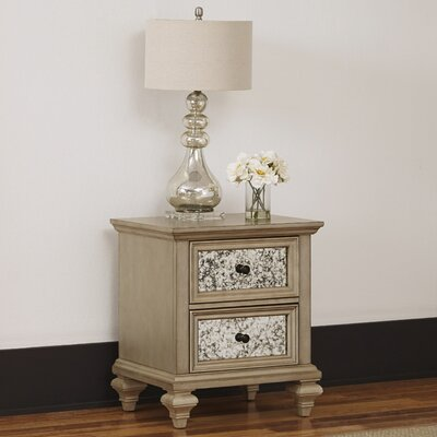 Visions 2 Drawer Nightstand