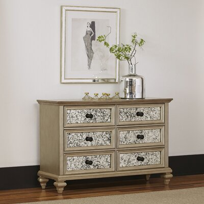 Visions 6 Drawer Double Dresser