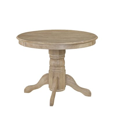Pedestal Dining Table Finish: White Wash