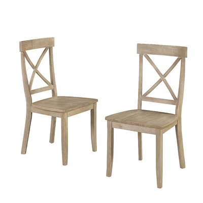 Side Chair Finish: White Wash