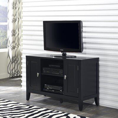 Prescott and Newport 44 TV Stand Color: Black