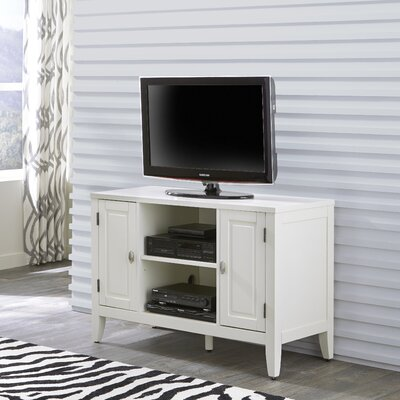 Prescott and Newport TV Stand Finish: White