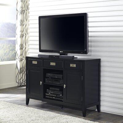 Prescott and Newport 54 TV Stand Color: Black