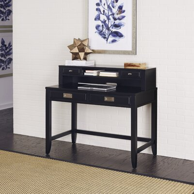 Home Styles Prescott and Newport Student Writing Desk with Hutch