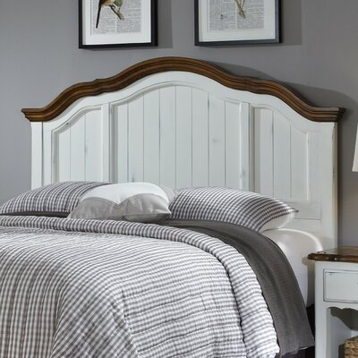 French Countryside Panel Headboard Size: Full / Queen, Color: White