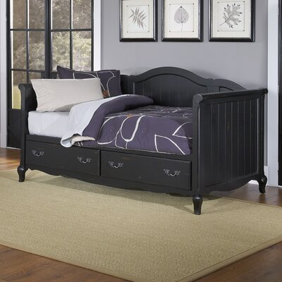 French Countryside Daybed Finish: Black