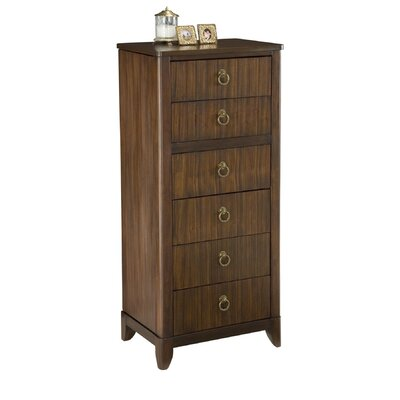 Home Styles Paris Mahogany Lingerie & Jewelry Chest
