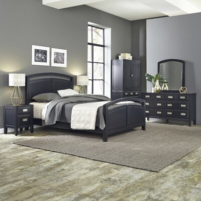 Prescott Panel 5 Piece Bedroom Set