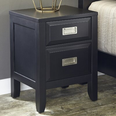 Prescott 2 Drawer Night Stand