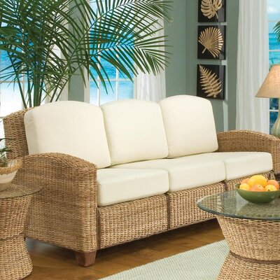 Cabana Banana Sofa with Cushions Upholstery: Honey