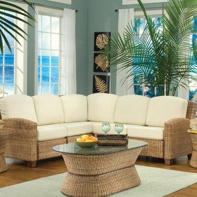 Cabana Banana Sectional Upholstery: Honey
