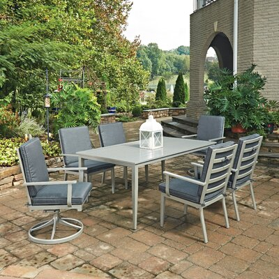 South Beach 7 Piece Dining Set with Cushion