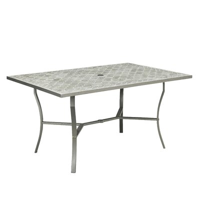 Umbria Concrete Tile Dining Table
