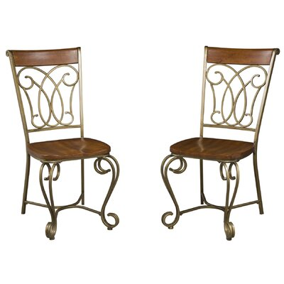 No credit check financing St. Ives Side Chair (Set of 2)...