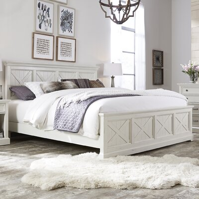 Ryles Panel 7 Piece Bedroom Set Size: King