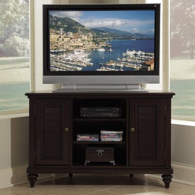 Cheap Home Styles Bermuda 50″ Corner TV Stand in Espresso (HO2502)