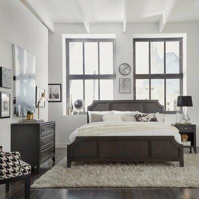 Calderdale Wood Panel Configurable Bedroom Set Bed Size: King