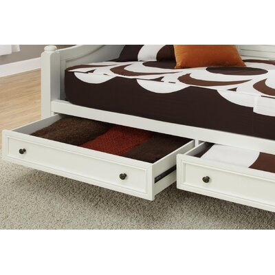 Furniture leasing Bermuda Daybed Finish: Brushed Whit...