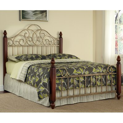 Furniture leasing St. Ives Metal Bed Size: Queen...