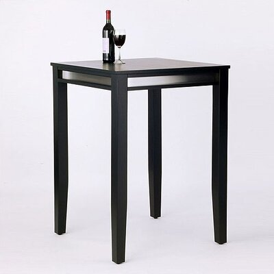 No credit check financing Manhattan Pub Table in Black...