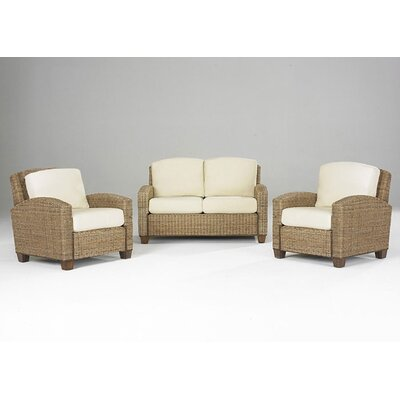 Cabana Banana 2 Chairs and Loveseat Upholstery: Honey