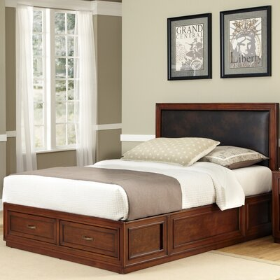 Credit for Duet King Platform Panel Bed Color:...