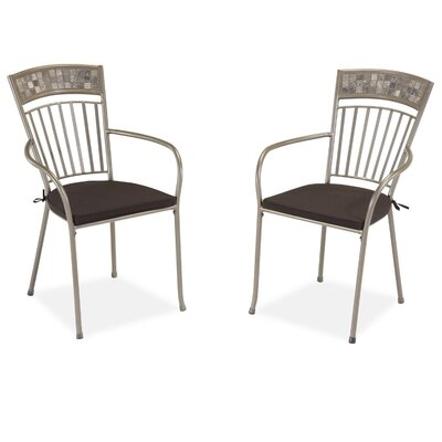 Home Styles Glen Rock Dining Arm Chair with Cushion (Set of 2) at Sears.com