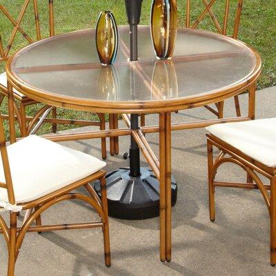 Bimini Jim Dining Table Table Size: 42, Finish: Light Natural