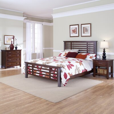 Home Styles Cabin Creek King Bed, Night Stand, and Chest