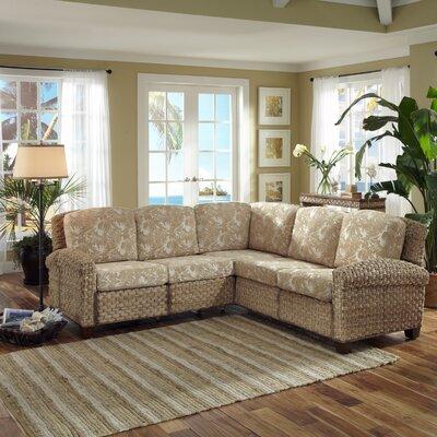 Cabana Banana Ii Sectional Upholstery: Honey