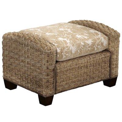Cabana Banana II Ottoman Upholstery: Honey