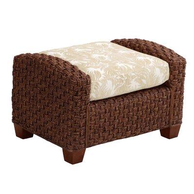 Cabana Banana II Ottoman Upholstery: Cinnamon