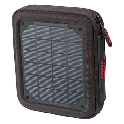 Amp Solar Charger - Color: Charcoal Panels
