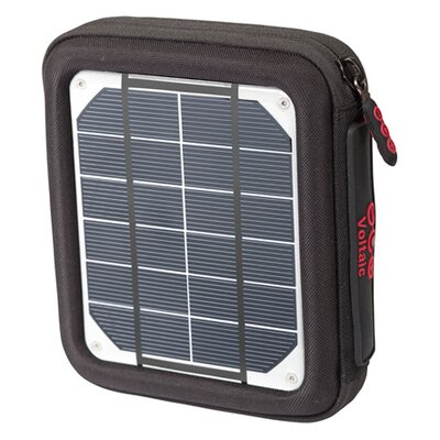 Amp Solar Charger - Color: Silver Panels