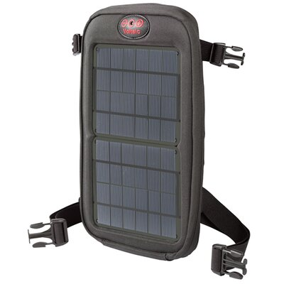 Fuse Solar Charger - Color: Charcoal Panels