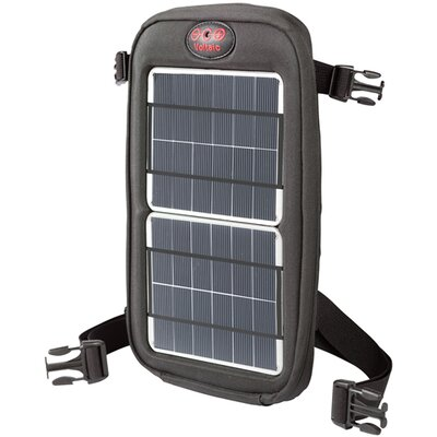 Fuse Solar Charger - Color: Silver Panels