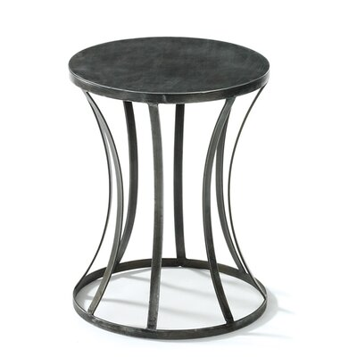 Furniture-Tin Round End Table