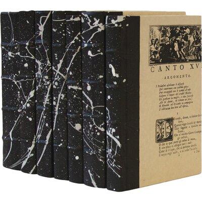 7 Piece Roar Decorative Book Set