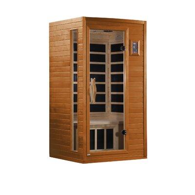 Dynamic Infrared Alicante 1-2-Person Corner FAR Infrared Sauna at Sears.com