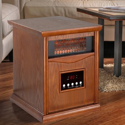 1 500 Watt Infrared 6 Quartz Element Space Heater