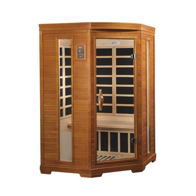 Dynamic Sauna 2 Person Corner Far Infrared Carbon Sauna at Sears.com