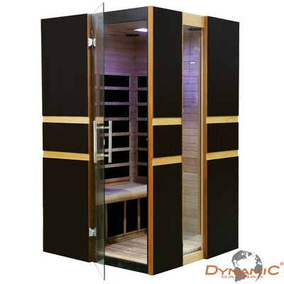 Dynamic Sauna 2 Person Modern Far Infrared Carbon Sauna at Sears.com