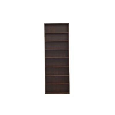 "Urban Basics 90"" Standard Bookcase Wood Veneer: Cherry, Finish: Autumn"