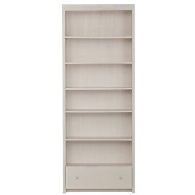 """Urbangreen Thompson 84"""" Bookcase - Wood Veneer: Walnut, Finish: Unfinished"""