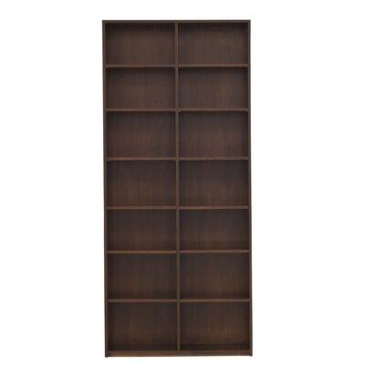 Urban Basics Cube Unit Bookcase Wood Veneer: Walnut, Finish: Bleached