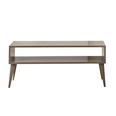 Garett Coffee Table Color: Walnut Unfinished