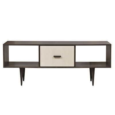 Cullen 48 TV Stand Color: Walnut Unfinished
