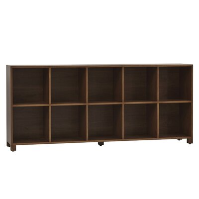 LP Horizontal Record Multimedia Cabinet Color: Walnut Toffee