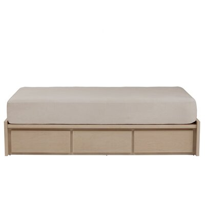 Thompson Twin Platform Bed with Storage Finish: Green, Wood Veneer: Painted Eco-MDF
