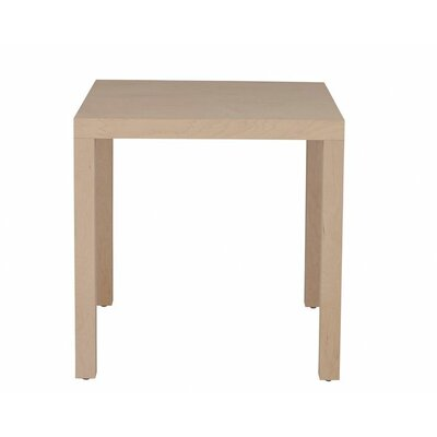 Parsons Dining Table Wood Veneer: Cherry, Finish: Unfinished